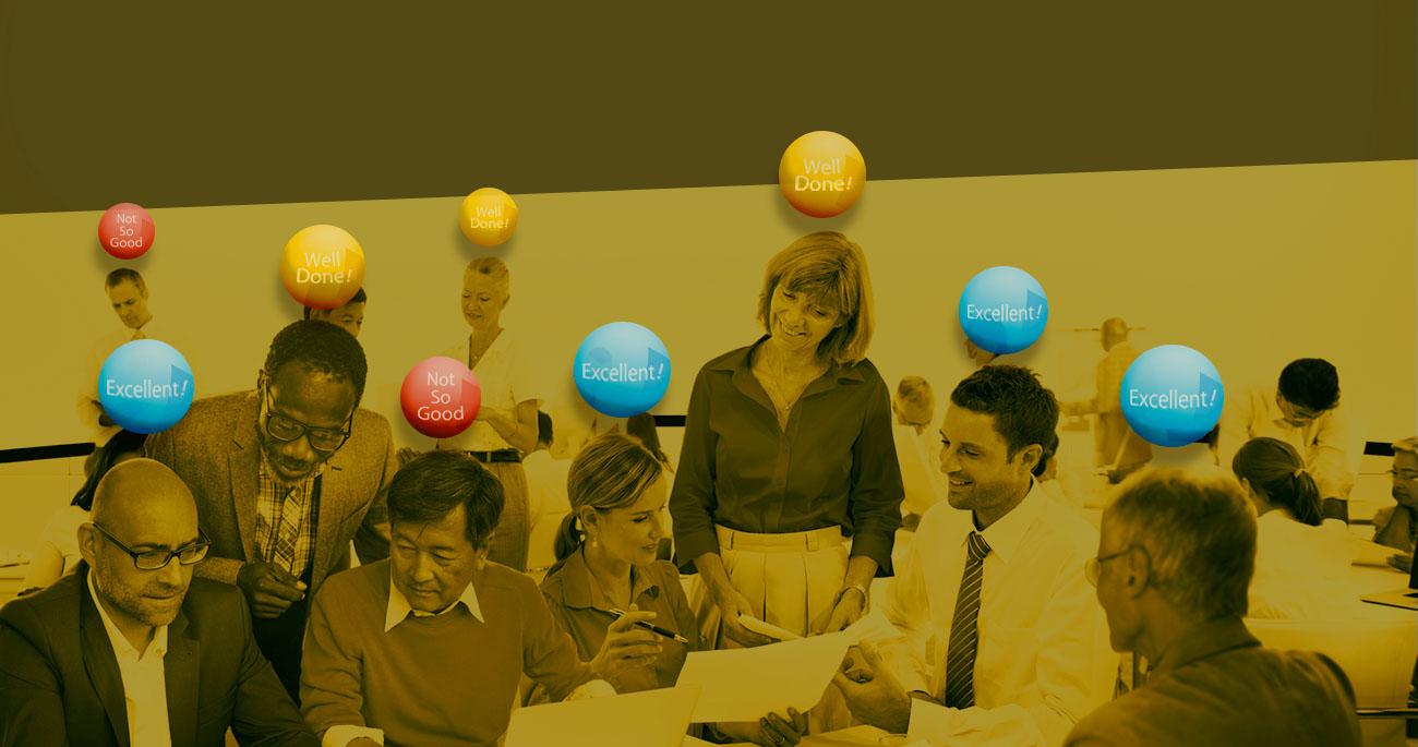 社員の気持ちを見える化気持ち次第で生産性30%UP!