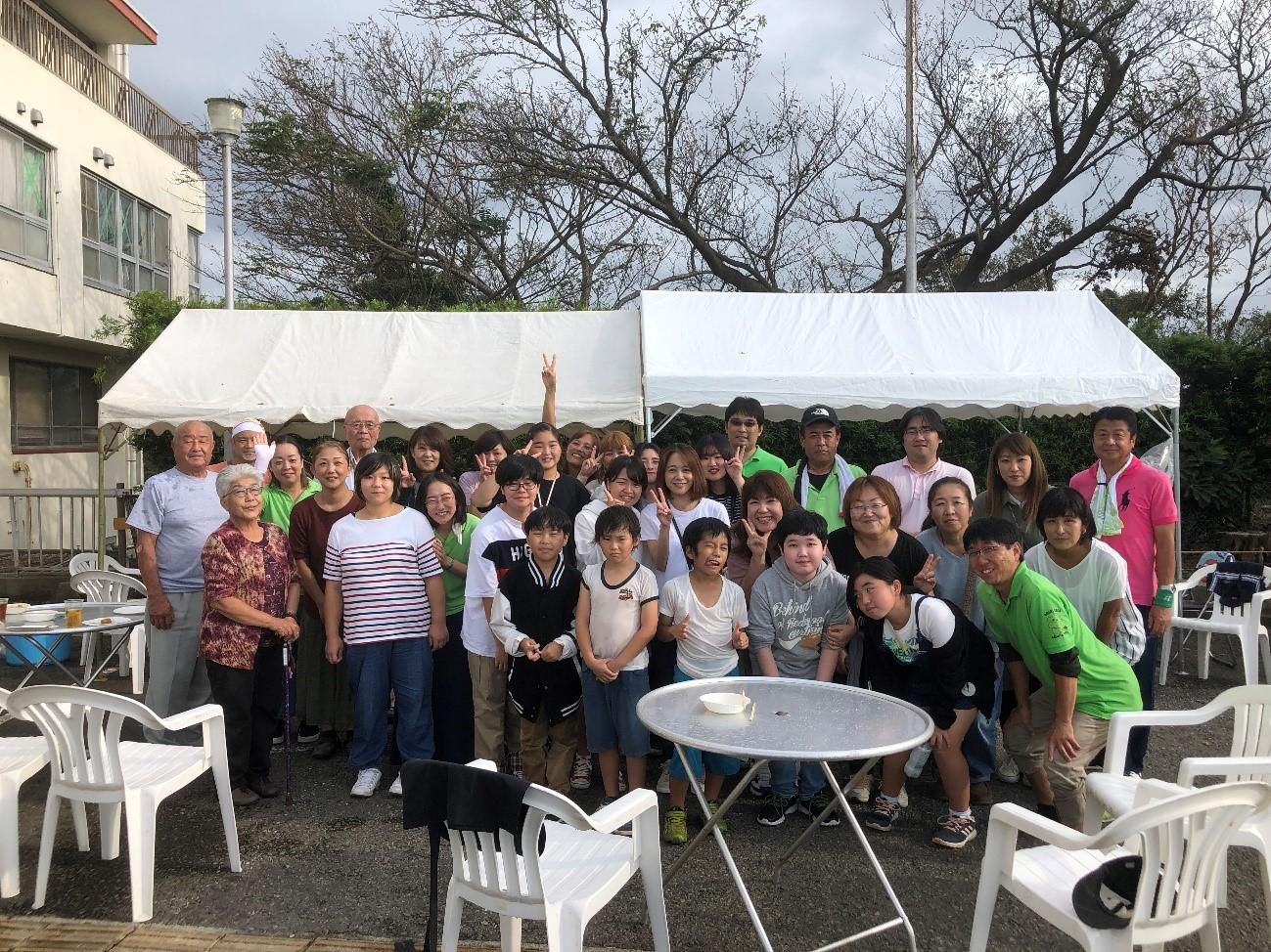 CHO主催行事ソフトボール大会参加と家族バーベキュー